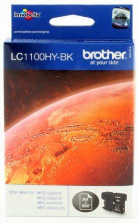 Brother LC1100HYBK tintapatron fekete (eredeti)