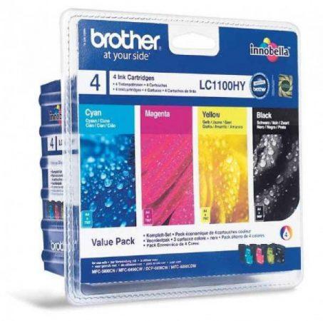 Brother LC1100HYBKCMY tintapatron csomag (eredeti)