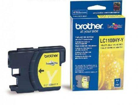 Brother LC1100HYY tintapatron sárga (eredeti)