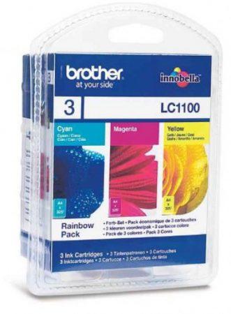 Brother LC1100CMY tintapatron csomag színes (eredeti)