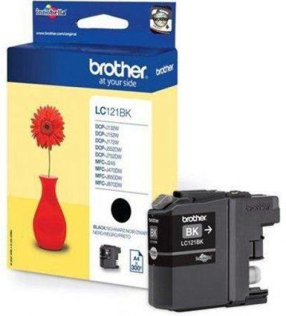 Brother LC121BK tintapatron fekete (eredeti)