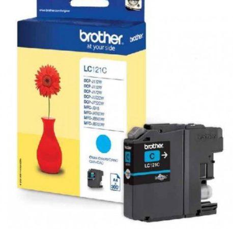Brother LC121C tintapatron kék (eredeti)