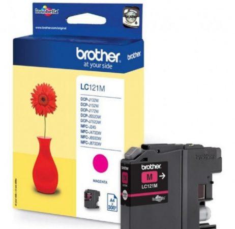 Brother LC121M tintapatron magenta (eredeti)