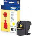 Brother LC121Y tintapatron sárga (eredeti)