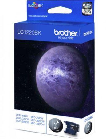 Brother LC1220BK tintapatron fekete (eredeti)