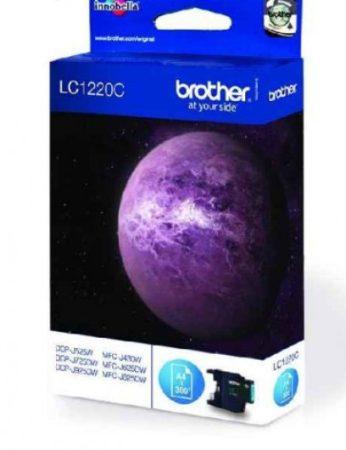 Brother LC1220C tintapatron kék (eredeti)