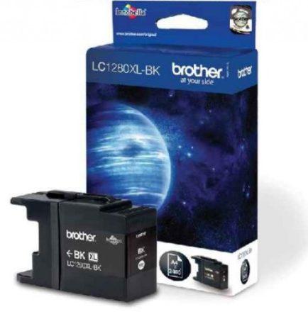 Brother LC1280XLBK tintapatron fekete (eredeti)