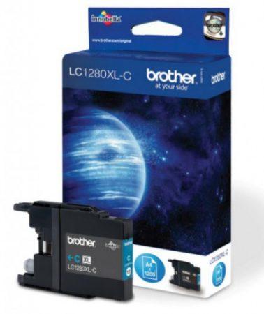 Brother LC1280XLC tintapatron kék (eredeti)