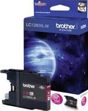 Brother LC1280XLM tintapatron magenta (eredeti)
