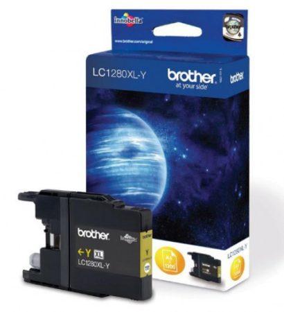 Brother LC1280XLY tintapatron sárga (eredeti)