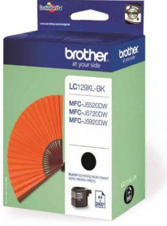 Brother LC129XLBK tintapatron fekete (eredeti)