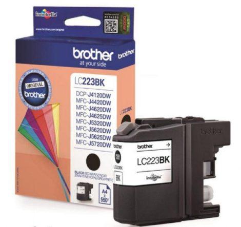 Brother LC223BK tintapatron fekete (eredeti)