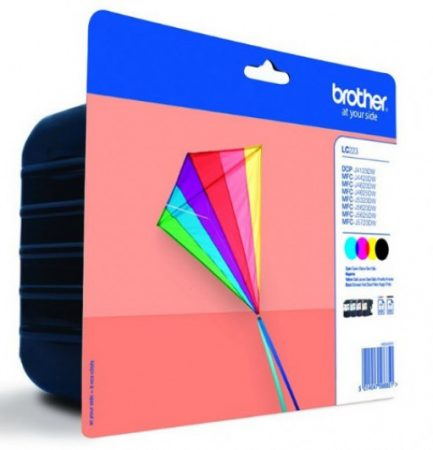 Brother LC223BKCMY tintapatron csomag (eredeti)