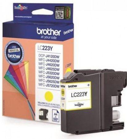 Brother LC223Y tintapatron sárga (eredeti)