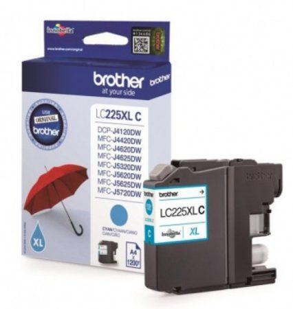 Brother LC225XLC tintapatron kék (eredeti)