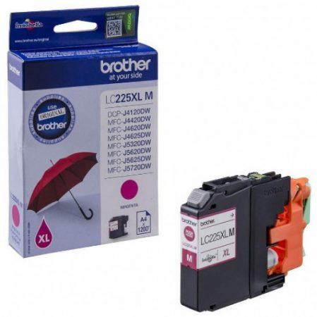 Brother LC225XLM tintapatron magenta (eredeti)