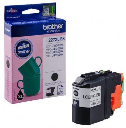 Brother LC227XLBK tintapatron fekete (eredeti)