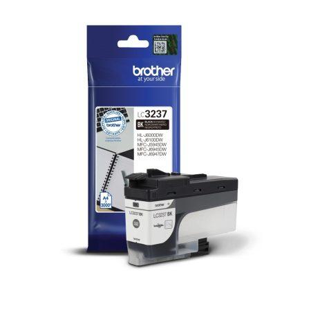 Brother LC3237BK tintapatron fekete (eredeti)