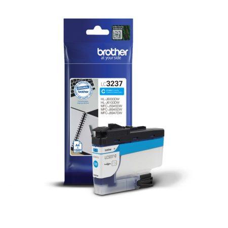 Brother LC3237C tintapatron kék (eredeti)