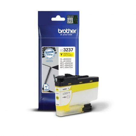 Brother LC3237Y tintapatron sárga (eredeti)