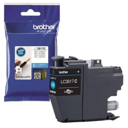 Brother LC3617C tintapatron kék (eredeti)