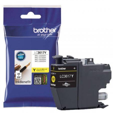 Brother LC3617Y tintapatron sárga (eredeti)