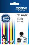 Brother LC529XLBK fekete tintapatron (eredeti)