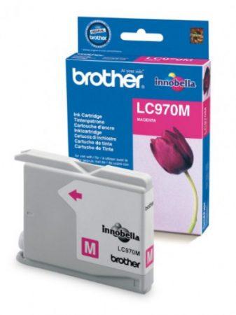 Brother LC970M tintapatron magenta (eredeti)