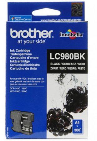 Brother LC980BK tintapatron fekete (eredeti)