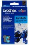 Brother LC980C tintapatron ciánkék (eredeti)