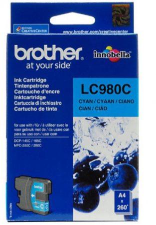 Brother LC980C tintapatron kék (eredeti)