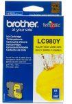 Brother LC980Y tintapatron sárga (eredeti)