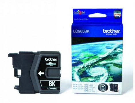 Brother LC985BK tintapatron fekete (eredeti)