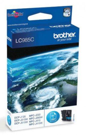 Brother LC985C tintapatron kék (eredeti)