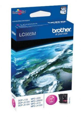 Brother LC985M tintapatron magenta (eredeti)