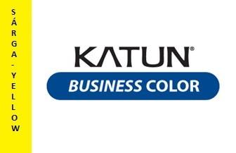 """Sharp MX-27GTYA sárga toner """"KATUN BUSINESS"""" (utángyártott)"""