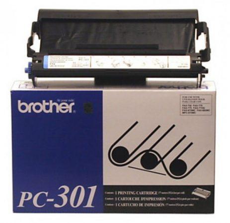Brother PC-301 fólia töltet + kazetta (eredeti)