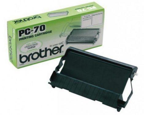 Brother PC-70 fólia töltet + kazetta (eredeti)