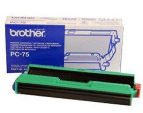 Brother PC-75 kazetta + fólia (eredeti)