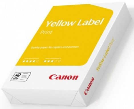 A/4 Canon sárga Label 80g. másolópapír