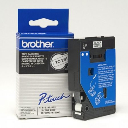 Brother P-touch TC-291 szalag (eredeti)